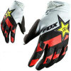 Red&White High Quality Cheaper Motorbike Gloves for Riders (MAG26)