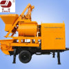 Jbt40-L Small Mobile Double Shaft Concrete Mixer Construction Machine