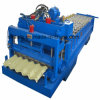 Shanghai Corrugated Roof Glazed Tile Roll Forming Machine Directly Supply