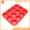 Food Grade Twelves Cells Round Shape Silicone Chocolate Mold (XY-ST-024)