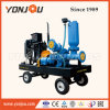 Self Suction Waste Water Pump with Trailer