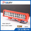 """12"""" 72W Auto Lamp High Output 4X4 Offroad CREE LED Light Bar"""