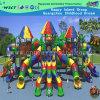 High Quality Multi Slides Outdoor Playground Children Playground Slide (HK-50034B)