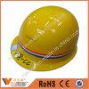 Ce En397 ABS/PE Warning Helmet Bulding Construction Safety Helmet