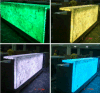 Bar Furniture Illuminated LED Corner Bar Counter