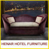 Purpal Living Room Wooden Moon Couch Lounge Sofa