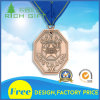 Factory Die Casting Fine Gold Award Metal Sports Medal