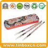 Rectangular Colour Pencils Tin Box for Kids, Metal Tin Pencil Case