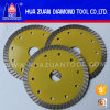 Hot Pressing Diamond Continuous Rim Turbo Saw Blade