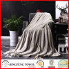 2017 New Super Soft Coral Fleece Solid Color Blanket Df-9989