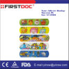 Assorted 72X19mm PE Cartoon Plaster Medtoons Cartoon Adhesive Bandages