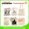 Custom Printing Logo 100% Cotton Fashion Tote Bags for Shopping