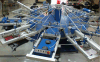 6 Colors 14 Stations Automatic T Shirt/Textile Screen Printing Machine/Screen Printer