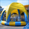Swimming Pool Inflatable 10*5*0.5m for Kids, Paddle Boat, Bumper Boats