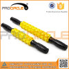 Two Length Yellow Gear Wheel Roller Massage Stick (PC-MS2010)