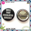 Pin Bottem Round Badge Cheap Price for Sale
