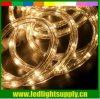 "220V Warm White 1/2"" LED Rope Light Christmas Decoration Strip Lamp"
