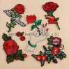 Fashion Flower Decoration Applique for Clothing Hat Embroidery Patch
