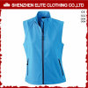 Womens Blue Softshell Jacket Sleeveless