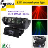 8*10W RGBW 4in1 LED Spider Moving Head Lamp for Party