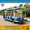 Battery Powered 14 Passengers Shuttle Bus for Resort