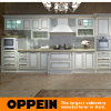 Euro Antique Line White MDF Kitchen Cabinets Design (OP13-264)