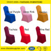 Spandex Polyester Plain Round Top Chair Covers