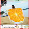 2017 New Printed Microfiber Round Beach Towel with Tassel Df-B108