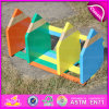 2015 Pencil Design Wooden Custom Kids Bookend, Colorful DIY Children Wooden Bookend, Decorative Bookends for Storage Books W08d031
