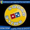 Black Nickel Dice Badges Smile Lapel Pins