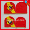 Custom Acrylic Knitted Winter Warm Football Soccer Fan Scarf