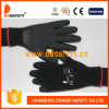 Ddsafety 2017 Black T/C Shell Black Latex Coating Gloves