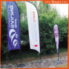 3PCS Custom Knife Feather Flag for Outdoor or Event Advertising or Sandbeach