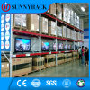 China Nanjing Factory Customized Warehouse Storage Metal Pallet Rack