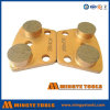 Double Round Diamond Segments Diamond Trapezoid Grinding Plate