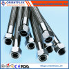 SAE 100 R14 Ss304 Ss316 Stainless Steel Braided Teflon Hose