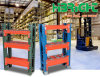 Heavy Duty Storage Warehouse Tear Drop Selective Pallet Rack