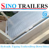 Drop Down Side Galvanized Tipping Trailer, Farm Trailer Tractor Tipper Trailer