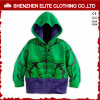 Fashion Trendy Bright Color Green Custom Hoodies for Kids (ELTKHI-3)