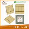 3gang Wall Switch Metal Clad Wholesale Flat Type