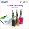 Seego Patented Dry Herb Vaporizer Vhit King+Tc-50W Kit with Huge Vapor