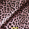 High Quality Artificial PU Leather for Bags with Leopard Grain