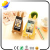 New Design Wooden with Metal Sticky Finger Ring Portable Stand Mobile Phone Stand