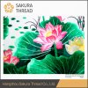 Oeko-Tex Class 1 Abstract Chinese Flower Home Embroidery Decorative Painting