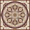 Flower Pattern Carpet Tile Polished Crystal Ceramic Floor Tile 1200X1200mm (BMP15)