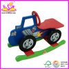 2014 New Wooden Rocking Horse for Kids, Popular Car Style Rocking Horse Toy for Children, Cute Wooden Rocking Toy for Baby W16D004