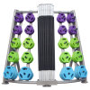 10 Sets Cardio Weight Plate Tree Rack/Pump Dumbbell Storage Rack/Fitness Body Building Equipment Rack