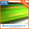 Yellow Fluorescent Rigid PVC Sheet for Lenses and Hat Brim