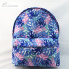 Purple Mix Printed Fashion Backpack