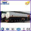 3 Axle 42000L Stainless Steel Fuel Oil Tank Semi Trailer